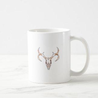 DEER SKULL COFFEE MUG