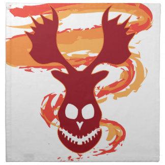 Deer Skull Napkin