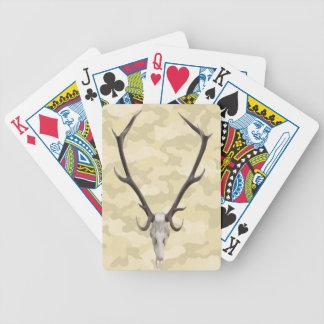 Deer Skull Playing Cards