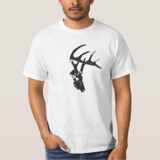 Deer skull tee shirt