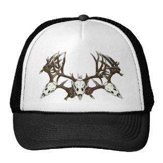 Deer skulls trucker hat
