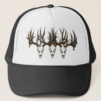 Deer skulls trucker hat