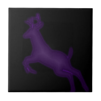 Deer Small Square Tile