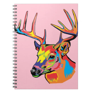 deer spiral notebooks