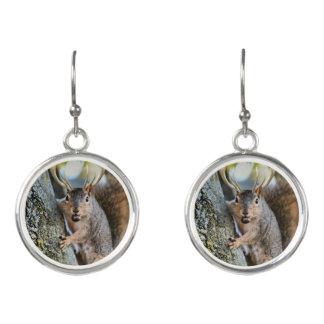 Deer squirrely earrings