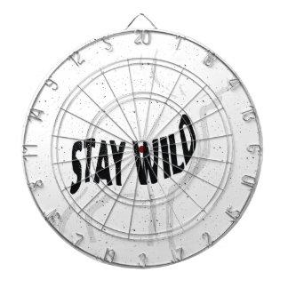 Deer - Stay wild Dartboard