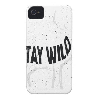 Deer - Stay wild iPhone 4 Covers
