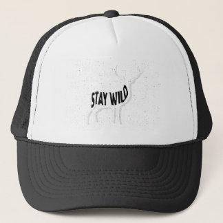 Deer - Stay wild Trucker Hat