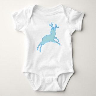 deer stencil 2.2.7 baby bodysuit