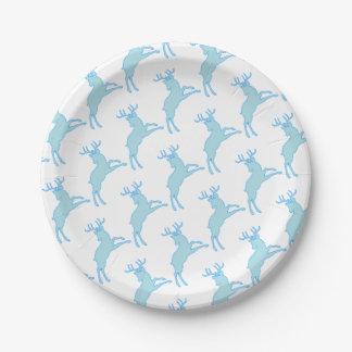 deer stencil 2.2.7 paper plate