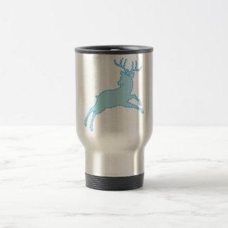 deer stencil 2.2.7 travel mug