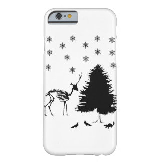 Deer Tree Snow Pigeons Chipmunk Barely There iPhone 6 Case