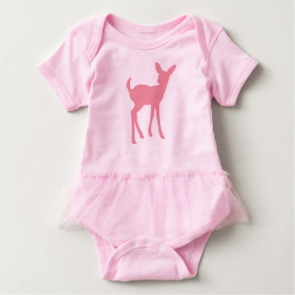 Deer Tutu Vest Baby Bodysuit