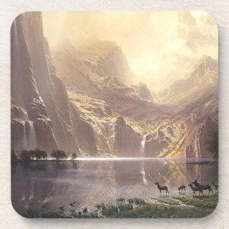 Deer Waterfall Lake Sierras Wilderness Coaster