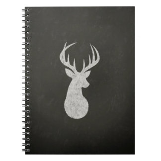 Deer With Antlers Chalk Drawing Notebooks