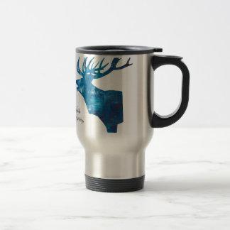 Deer with merry Christmas Travel Mug