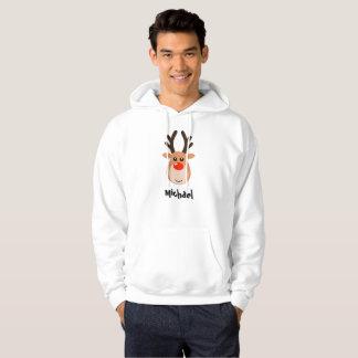 Deer with name Men's Sweatshirt