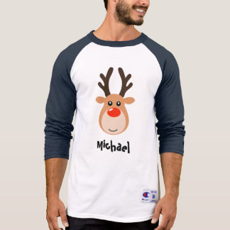 Deer with name Men's T-Shirt