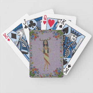 Deer Woman (Fairy Tale Fashion Series #5) Bicycle Playing Cards