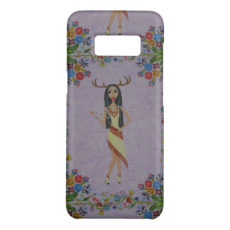 Deer Woman (Fairy Tale Fashion Series #5) Case-Mate Samsung Galaxy S8 Case