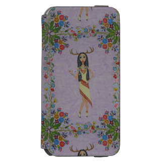 Deer Woman (Fairy Tale Fashion Series #5) Incipio Watson™ iPhone 6 Wallet Case
