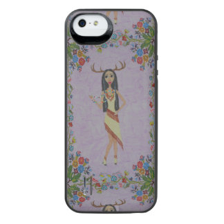 Deer Woman (Fairy Tale Fashion Series #5) iPhone SE/5/5s Battery Case