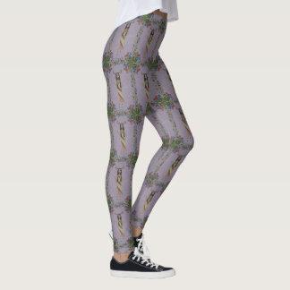 Deer Woman (Fairy Tale Fashion Series #5) Leggings