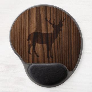 Deer Wood Look Gel Mouse Pad