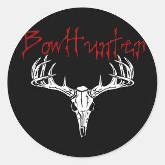 deerbowhunter copy round sticker