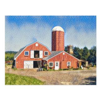 Deerfield Farm Postcard