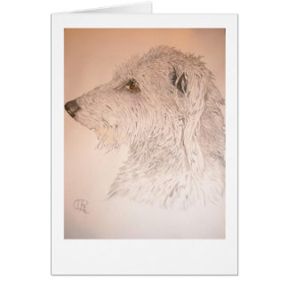 Deerhound Card
