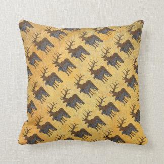Deerhound & deer cushion
