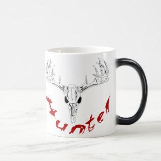 deerhuntercurved coffee mug