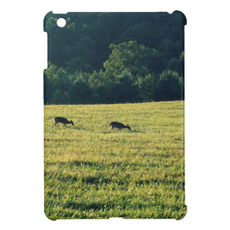 Deers Grazing Cover For The iPad Mini