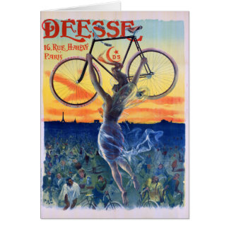 Déesse Cycles 1898 Vintage Advertising Poster Card