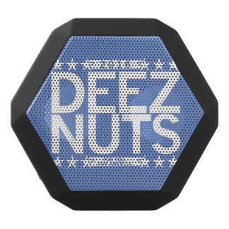 Deez nuts black bluetooth speaker