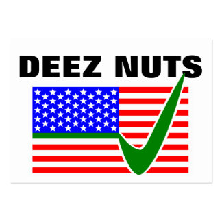 DEEZ NUTS for President 2016 Pack Of Chubby Business Cards