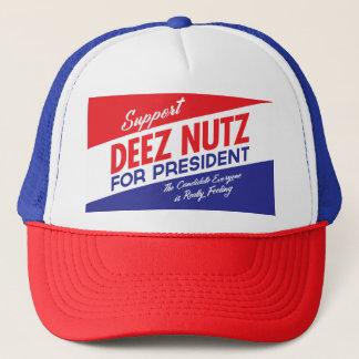 Deez Nuts for President Trucker Hat