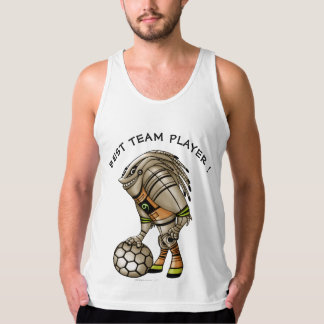 DEEZER ROBOT ALIEN MONSTER Men's American Appare 2 Singlet