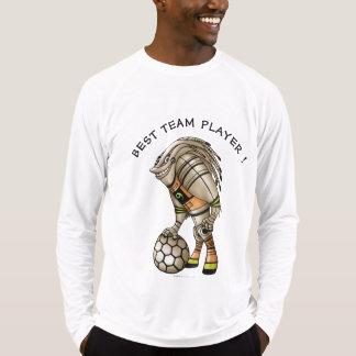 DEEZER ROBOT ALIEN MONSTERMen's Sport-Tek Fitted 2 T-Shirt