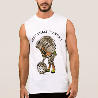 DEEZER ROBOT ALIEN MONSTERMen's Ultra Cotton Slee2 Sleeveless Shirt