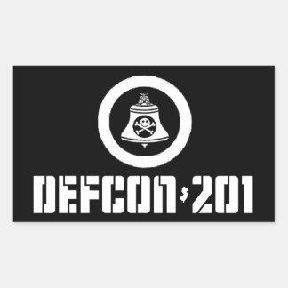 DEFCON 201 -- Non-Member Sticker Set