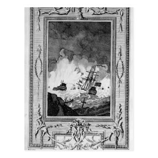 Defeat of the Spanish Armada Postcard