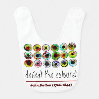 Defeat the colours! John Dalton. Bib