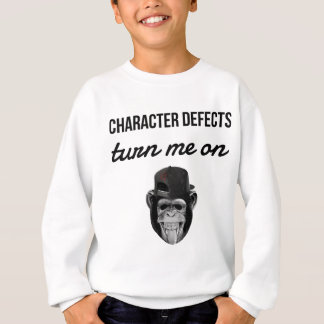 defect monkey sweatshirt