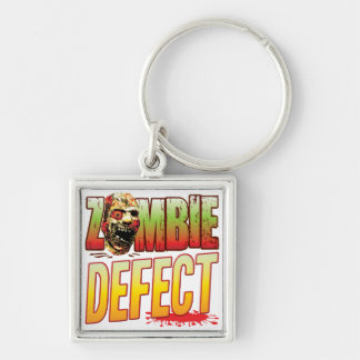Defect Zombie Head Key Chains