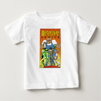 "Defective Comics ""King of the Hill"" Design Baby T-Shirt"