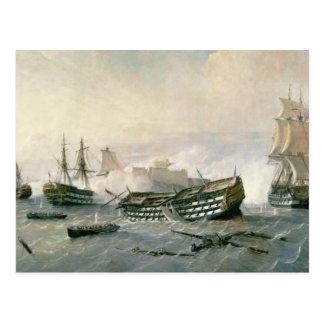 Defence of the Havana Promontory in 1762, c.1898 Postcard