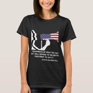 Defend Free Speech Women's T T-Shirt