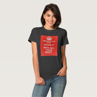 Defend freedom t shirts